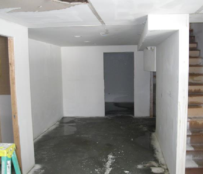 Flooded Basement In Commercial Property: Keene, NH Water Damage Restoration And Water Removal