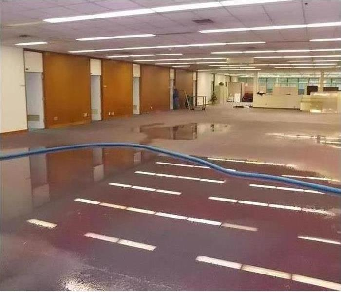 Commercial Water Damage – Keene Conference Center Before