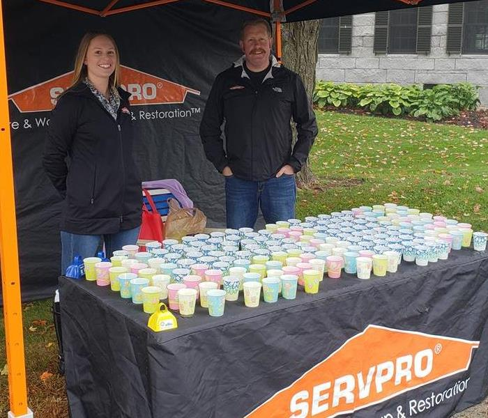 SERVPRO Volunteers at the 2018 DeMar Marathon