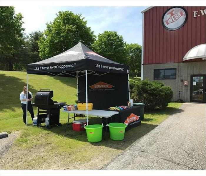 Grill-Out by Cheshire County SERVPRO in Brattleboro, VT
