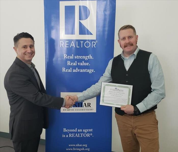 Recognition from Monadnock Region Board of Realtors