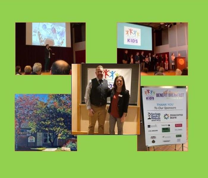 collage of pictures from 4th Annual Keene Housing Kids Collaborative Benefit Breakfast