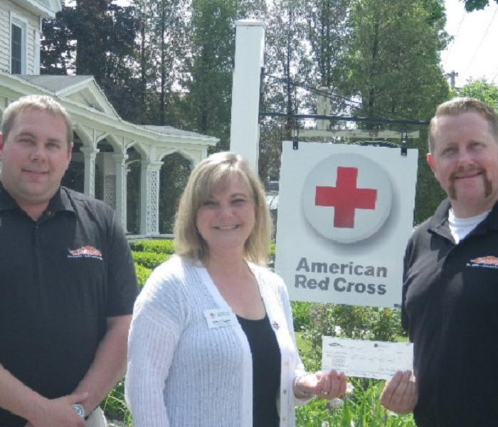 Donation to American Red Cross