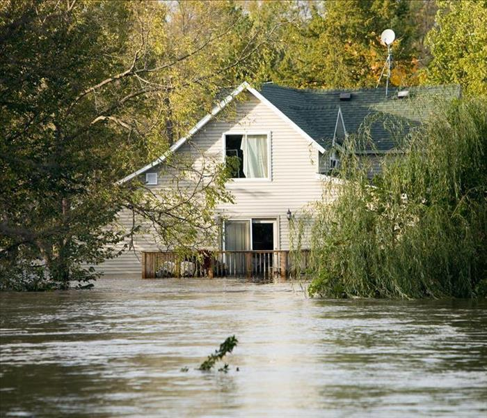 Storm Damage Hurricane Effects In New England Cause Local Flooding in Jaffrey