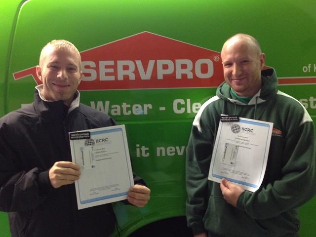General SERVPRO of Keene Technicians Receive New Certification
