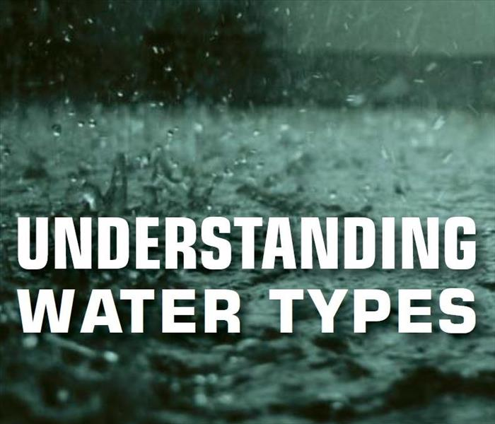 Water Damage Understanding Water Types